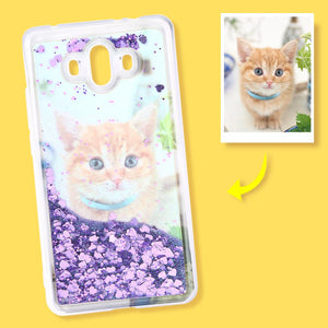 Huawei Mate10 Custom Quicksand Photo Phone Case
