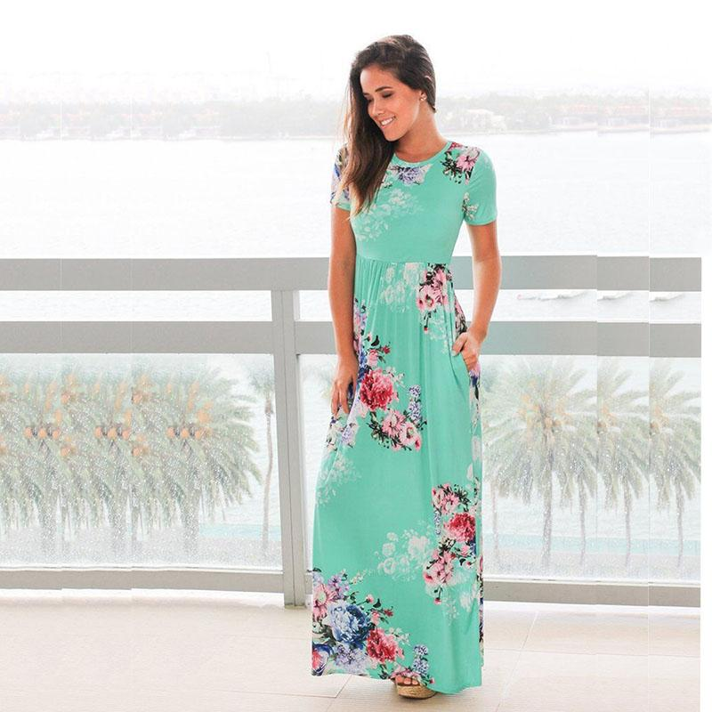 Catherine - Floral Maxi Dress