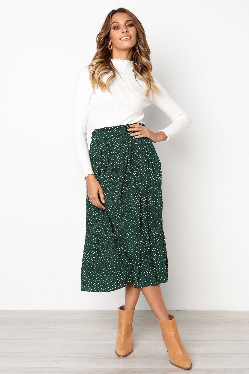 Jacqueline - Spotted Skirt