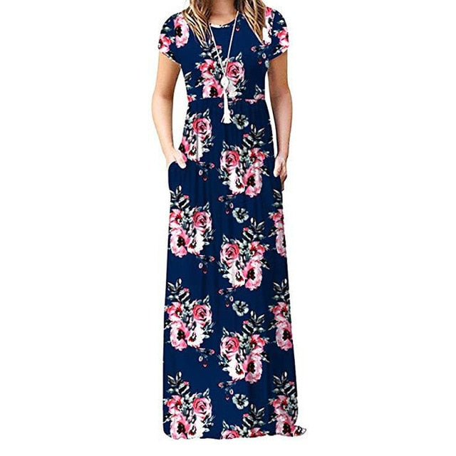 Montgomery - Floral Maxi Dress