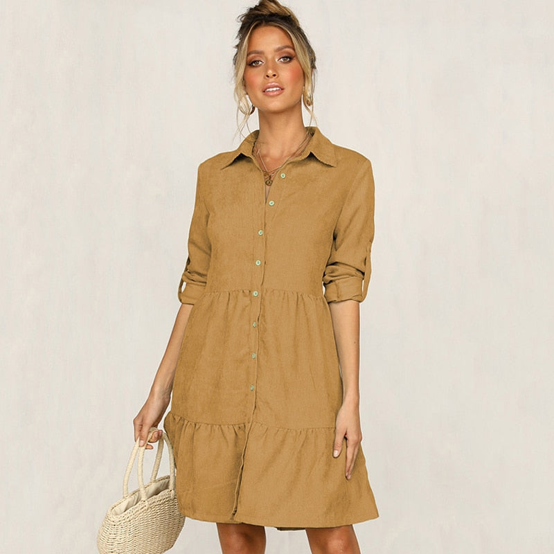 Rosemary - Button-Up Dress