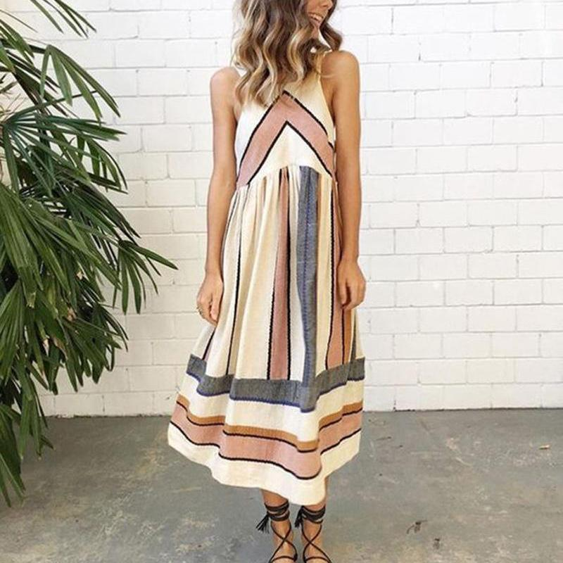 Rae Anne - Striped Dress