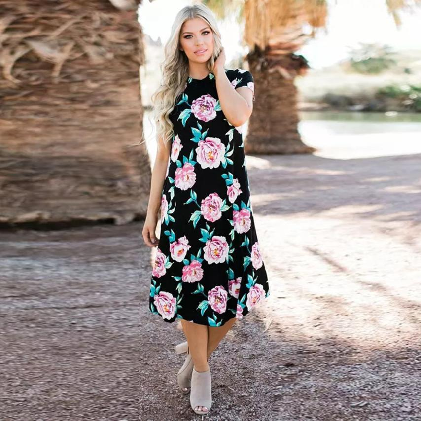 Bentley - Floral Dress