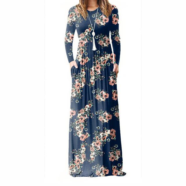 Henley - Floral Maxi Dress