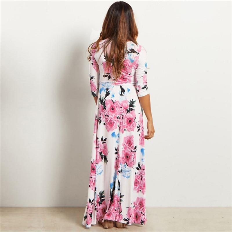 Alisha - Floral Maxi Dress