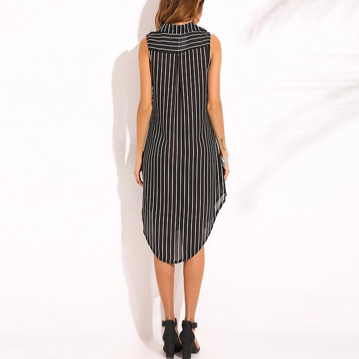 Rondine - Striped Dress