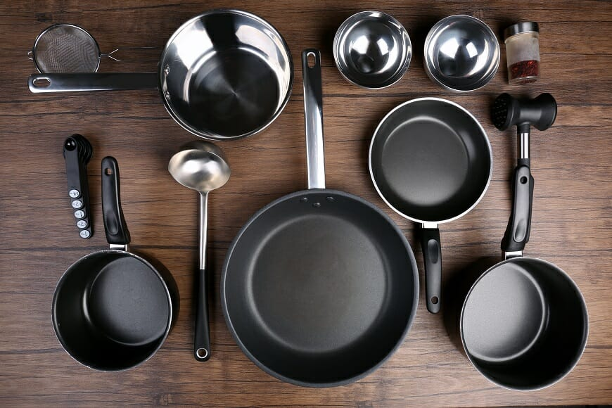 Why You Should Stay Away From Non-Stick Pans and Cookware