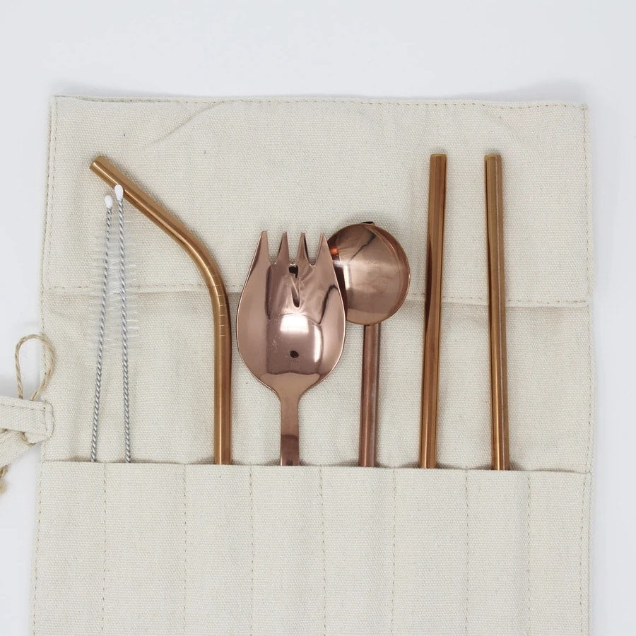 Cutlery Set Rose Gold