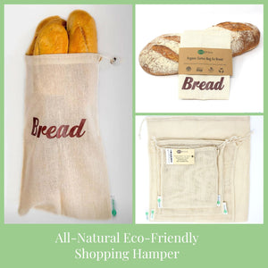 All-Natural Eco-Friendly Shopping Hamper