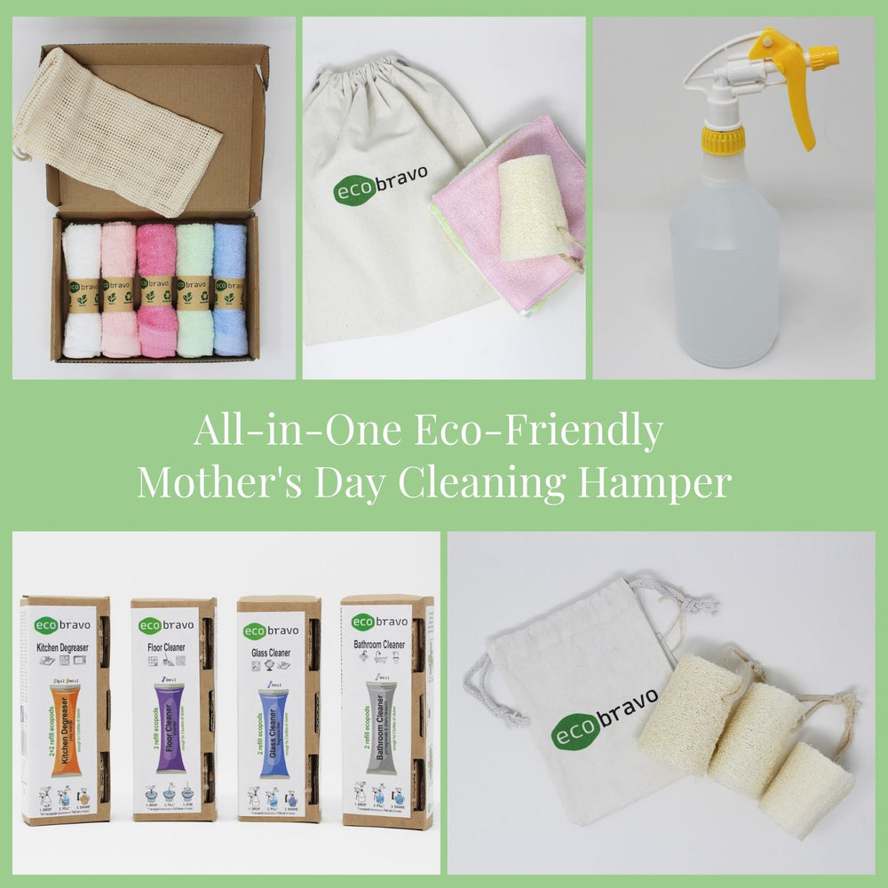 All-in-One Eco-Friendly Cleaning Hamper for Mother's Day