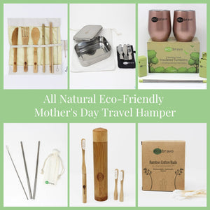 All Natural Eco-Friendly Travel Hamper for Mother's Day