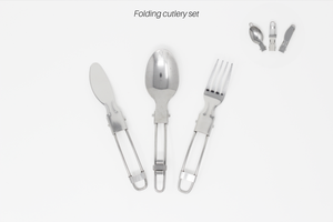 Foldable Stainless Steel Cutlery Set