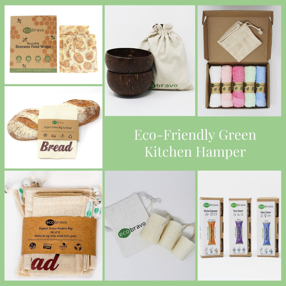 Eco-Friendly Green Kitchen Hamper