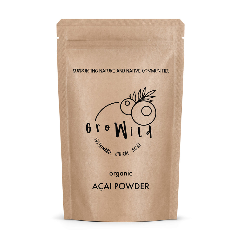 Organic Freeze Dried Açai Berry Powder (100g)