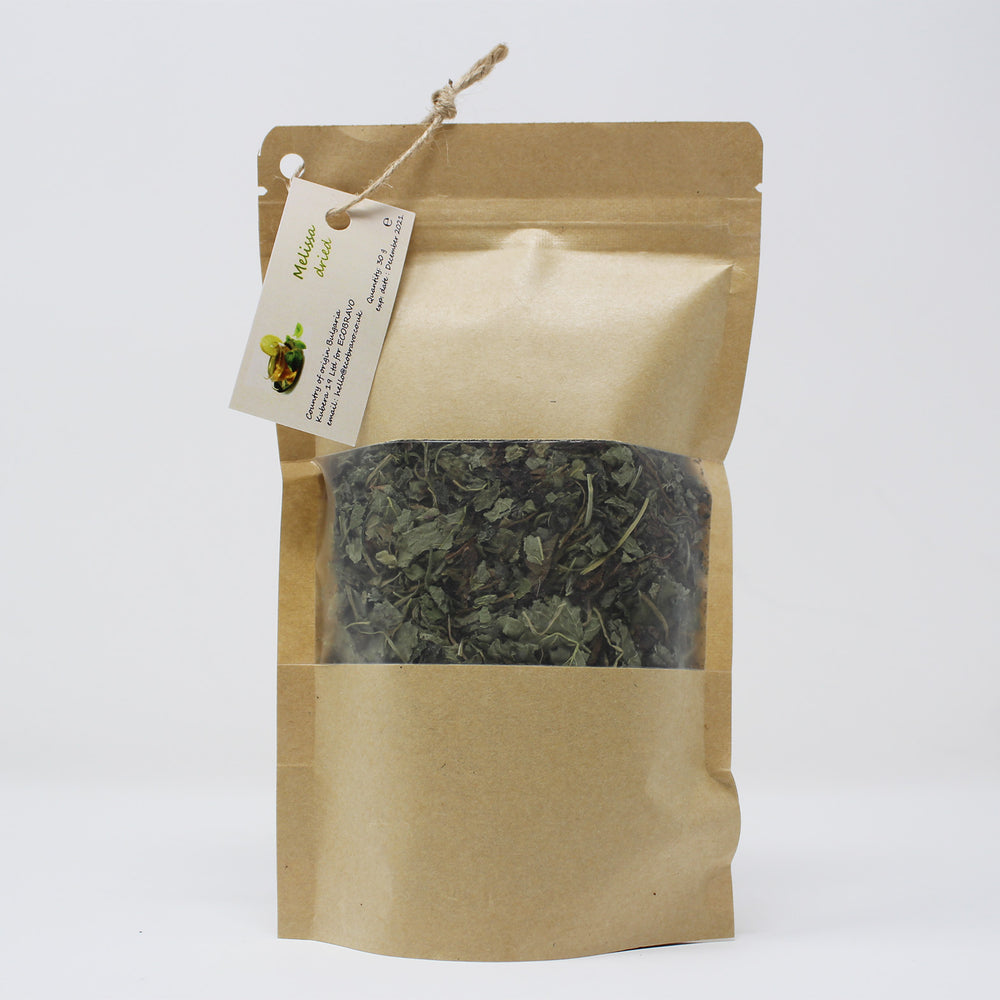 Organic Dried Melissa Loose Leaf Tea (30g)