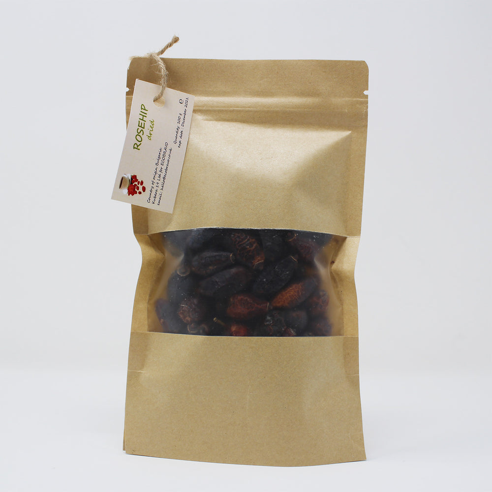 Organic Dried Rosehip Loose Leaf Tea (100g)