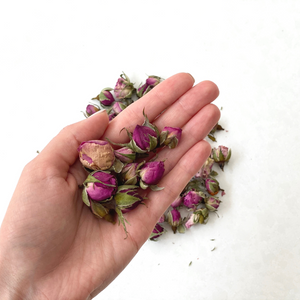 Organic Dried Bulgarian Rose Bud Loose Tea (30g) - Plastic-Free