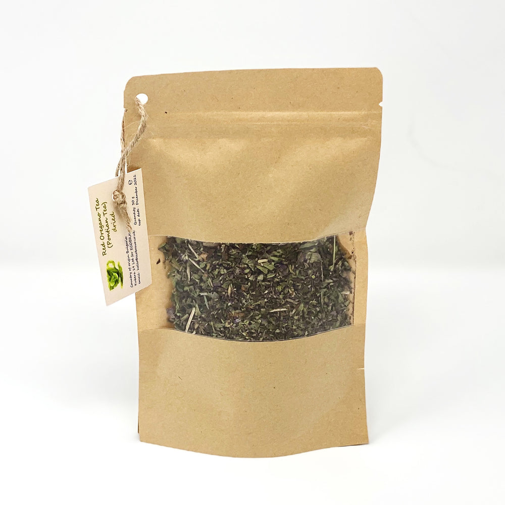 Organic Dried Red Oregano Loose Leaf Tea (30g)