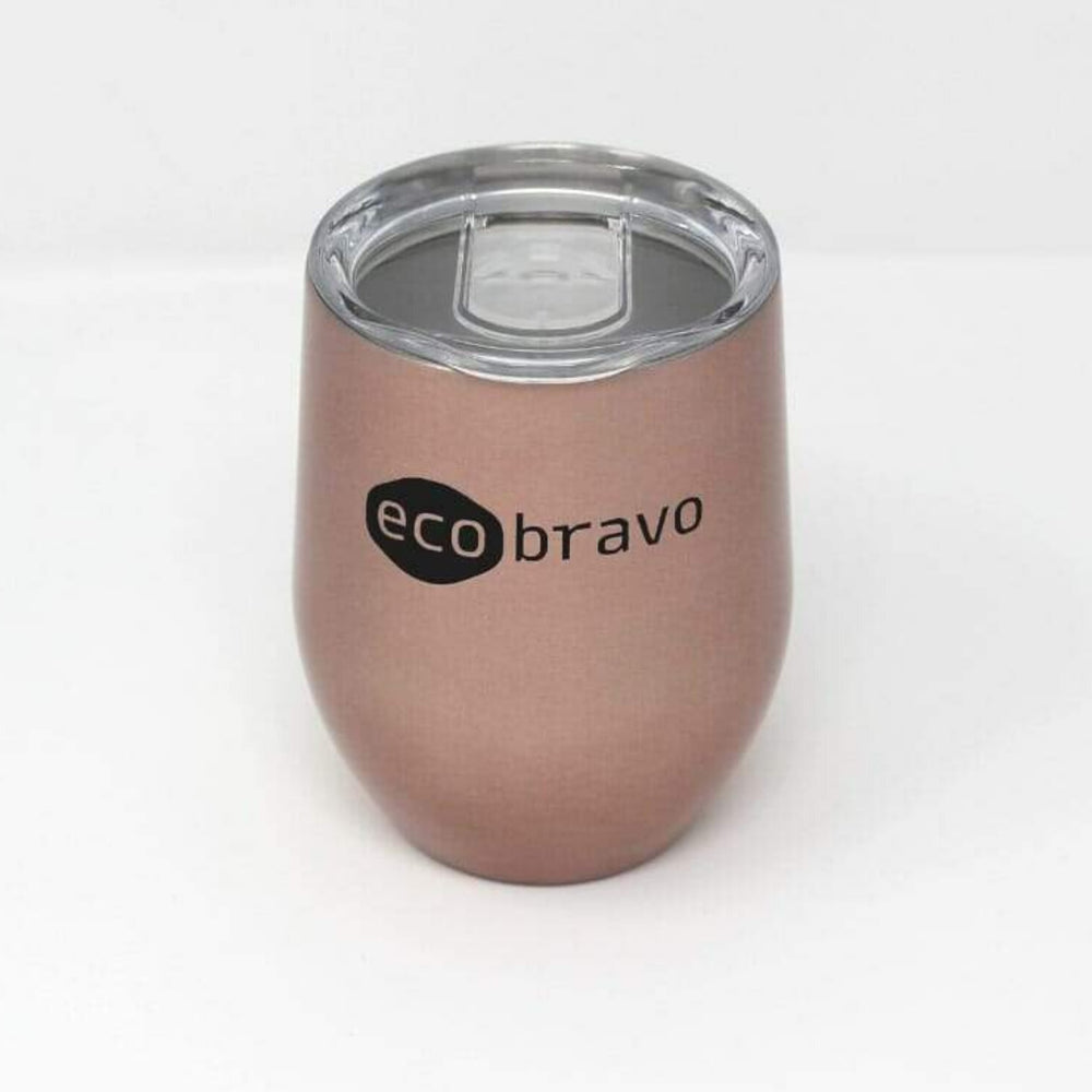 Reusable Coffee Cup in Rose Gold