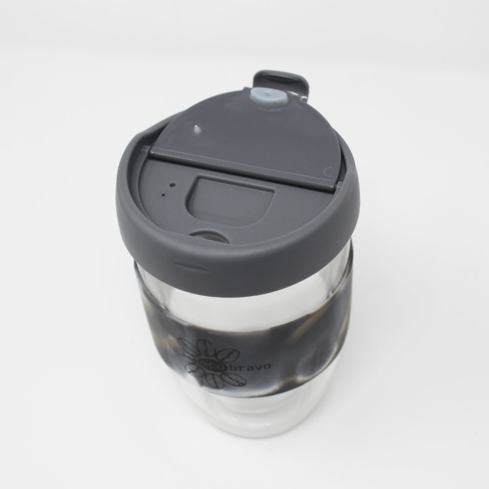 Reusable Coffee Glass Cup