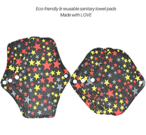 6 Pack Reusable Sanitary Towel Pads