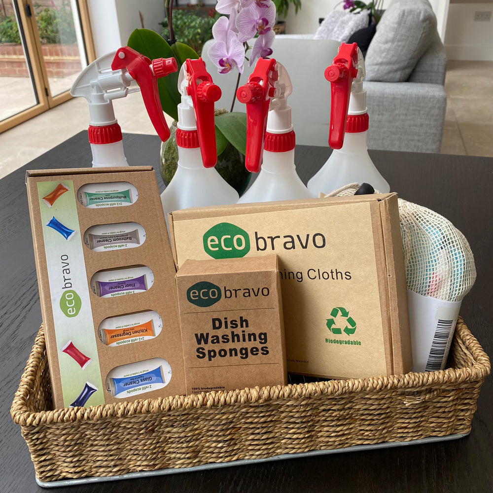Eco-Friendly Cleaning Set