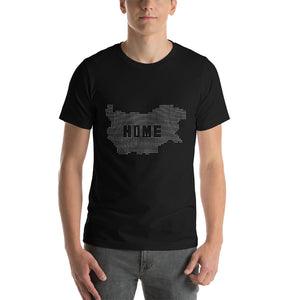 Men - Home Is Where My Heart Is T-Shirt