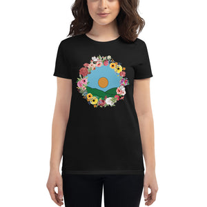 Flowers & Butterflies T-shirt