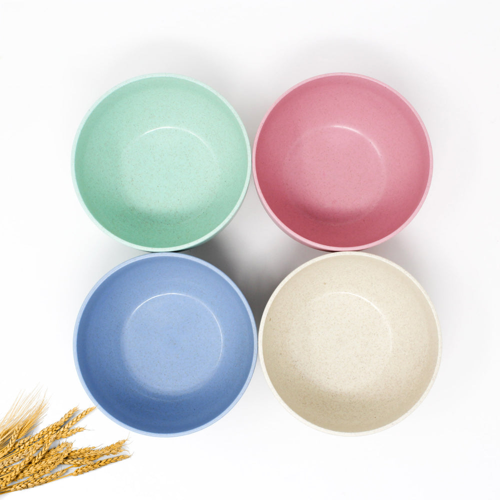 Wheat Straw Bowls Set of 4
