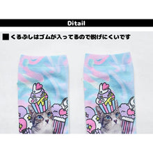 I read an image to a gallery viewer, ICE Anji socks