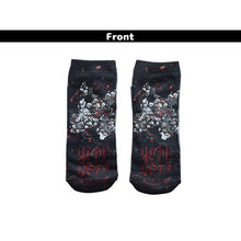 I read an image to a gallery viewer, Do Samurai socks