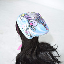 I read an image to a gallery viewer, ICE Ange Knit Cap