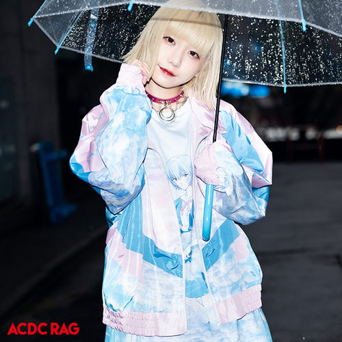 Lei & Asuka nylon jacket
