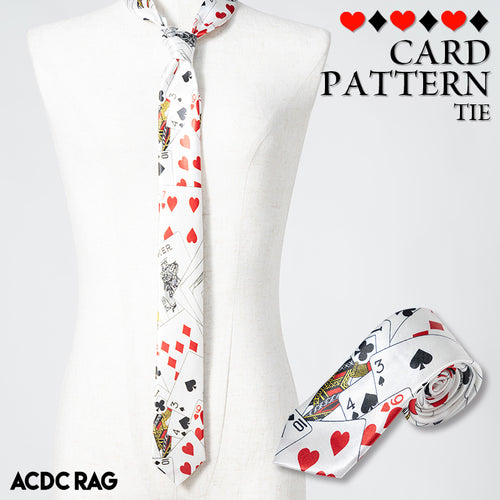 Playing cards-2 tie