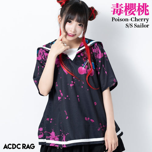 [Short sleeves] Cherry Sailor