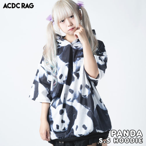 [Short sleeves] Panda BIG hoodie