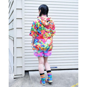 [Short sleeve] POP ​​candy BIG hoodie