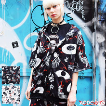 I read an image to a gallery viewer, [Short sleeve] Kabuki ZIP BIG Parker