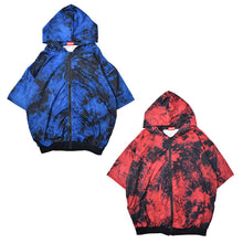 I read an image to a gallery viewer, [Short sleeve] Bleach ZIP BIG Hoodie