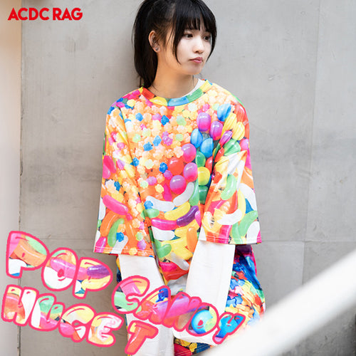 【SALE】POP CANDY ヒュージT