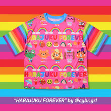 I read an image to a gallery viewer, HARAJUKU FE T-shirt