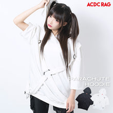 I read an image to a gallery viewer, [Short sleeve] Parachute Parka