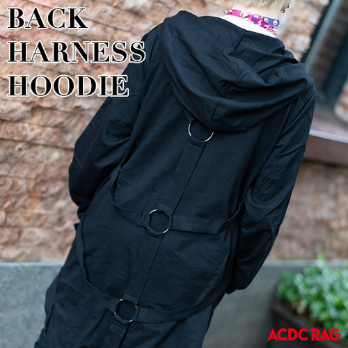 Back harness parka