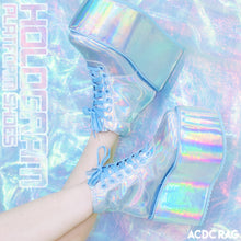 I read an image to a gallery viewer, Holo Platform Shoes