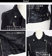 I read an image to a gallery viewer, Lee riders jacket