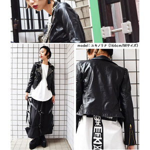 Studs PU Riders jacket.
