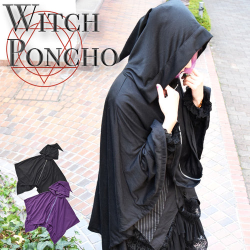 Witch poncho