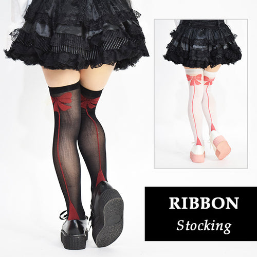 Ribbon stockings