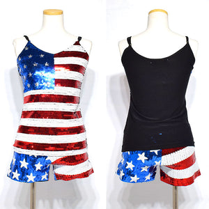USA Sequin Camisole