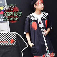 I read an image to a gallery viewer, [Short sleeve] C strawberry sailor